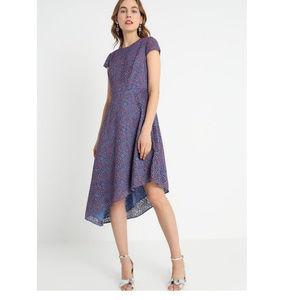 Banana Republic Lace Asymmetrical Dress NWT - 6